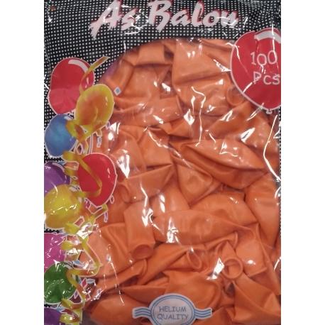 toptan balon turuncu as iç mekan 100 lü