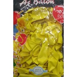 toptan balon sarı as iç mekan 100 lü