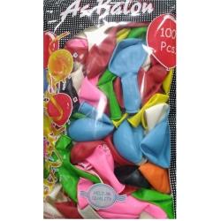 toptan balon karışık renk as iç mekan 100 lü