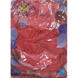 kırmızı balon 100 ad