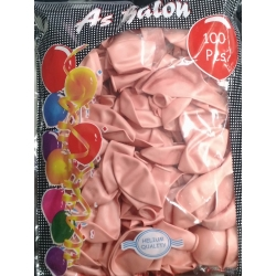 toptan metalik balon rose,somon,