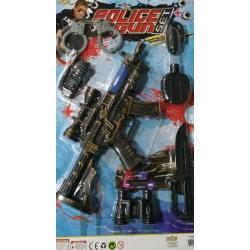 polis seti ateşli tüfekli