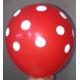 toptan puanlı balon kırmızı