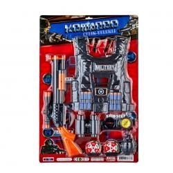 toptan oyuncak komando set yelekli büyük