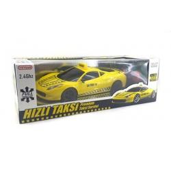 toptan toy20 1:16 şarjlı sarı taksi