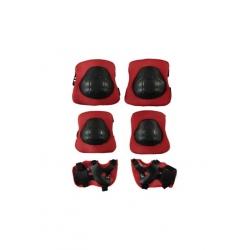 toptan dizlik dirseklik set kırmızı frk38811