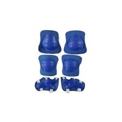 toptan dizlik dirseklik set mavi frk38811