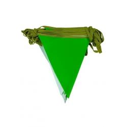 toptan branda üçgen flama yeşil beyaz